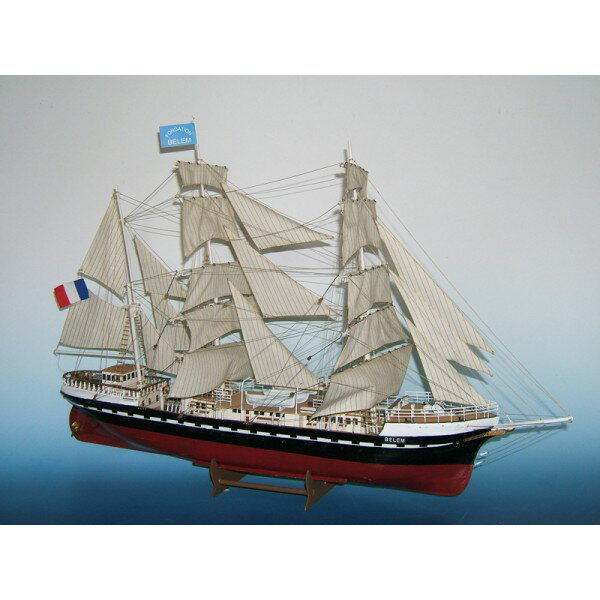 "Soclaine Le Belem, ""ベレン"" フランス練習帆船 1896年 BLM300"