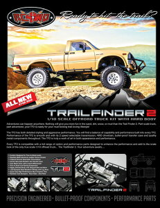 RC4WD トライアル・ファインダー2キット(Trail Finder 2 Truck Kit w/Mojave Body Set) Z-K0042