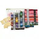 オリムパス GARDEN PARTY 刺しゅう糸セット-スプール付- GP-100A ワイルドガーデン 刺繍糸 100色 セット 25番 刺しゅう糸