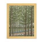 オリムパス 刺しゅうキット オノエメグミ 木々の彩り カラマツ林の小道 7492