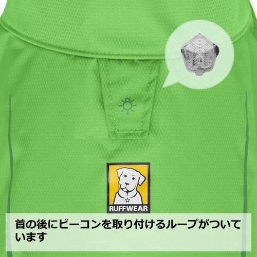 ※返品交換不可※ラフウェア(RUFFWEAR) サンシャワー レインジャケット [メロウグリーン/L]