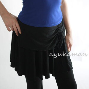 ミニスカート スカート エクササイズ マラソン アユカマン ストレッチ