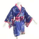 よさこい 衣装 ステージ衣装 着物 和柄 青 ブルー ダンス 祭り衣装 かわいい着物ドレス 着物 花魁 コスプレ ドレス...