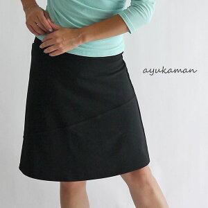 シンプルスカート エクササイズ ウォーキング ストレッチ レディー オーバー スカート