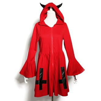 devil8132 惡魔罩 • 反向交叉會徽與一件 8132 萬聖節孩子們萬聖節服裝萬聖節服裝萬聖節服裝的孩子萬聖節服裝