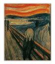 名画キャンバスアート エドヴァルド・ムンク 叫び (Edvard Munch)/額入り 額装込 風景画 絵画 絵 壁掛け アート リビング 玄関 トイレ インテリア かわいい 壁飾り 癒やし プレゼント ギフト アートパネル ポスター アートフレーム おしゃれ Sサイズ