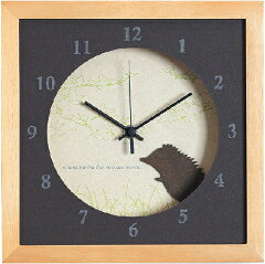 《時計》Verdure Hedgehog/NA/絵画・壁掛けアートは、リビングや玄関におすすめ…