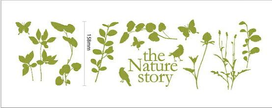 【ウォールステッカー】NaturestoryBirdミニウォールステッカー/158x0x0/S/