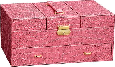 トレー ラグジュアリー ジュエリーケース クロコ (ピンク)/インテリア 壁掛け 額入り 額装込 風景画 油絵 ポスター アート アートパネル リビング 玄関 プレゼント モダン アートフレーム おしゃれ 飾る Mサイズ 巣ごもり