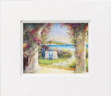 絵画 ゆうパケット マルコ マヴロヴィッチ 募る想い/インテリア 壁掛け 額入り 油絵 ポスター アート アートパネル リビング 玄関 プレゼント モダン アートフレーム おしゃれ Sサイズ