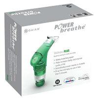 〔パワーブリーズプラスウェルネスタイプ(低負荷)〕グリーン【送料無料】イギリスで生まれた肺機能強化トレーナー!腹筋・背筋・横隔膜・肺力を強化【マラソンsep12_北海道東北】