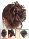 シュシュタイプF (シュシュウィッグ・つけ毛・付け毛・つけ髪・ヘアアクセサリー)