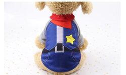 ドッグウエアつなぎペット用犬の服カバー小型犬服おでかけお部屋着抜け毛防止トイプードルチワワヨーキ