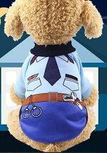 ドッグウエアつなぎペット用犬の服カバーパーカー小型犬服おでかけお部屋着抜け毛防止トイプードルチワワヨーキ