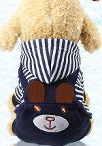 犬服ドッグウエアつなぎペット用フード付きロンパースフリースカバーオール小型犬服パーカーおでかけお部屋着犬の服抜け毛防止トイプードルチワワヨーキー
