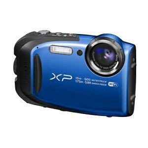 富士フイルムデジタルカメラFinePixXP80ブルーFX-XP80BL