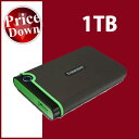 Transcend【トランセンド】 ポータブルハードディスク 1TB StoreJet 25M3 ブラック /TS1TSJ25M3【USB3.0/2.0対応】【送料無料】