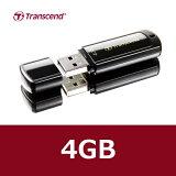 Transcend【トランセンド】 キャップ式USBメモリー4GB/TS4GJF350【DM便対応 送料164円★】