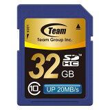 Team【チーム】SDHCカード 32GB class10/TG032G0SD28K