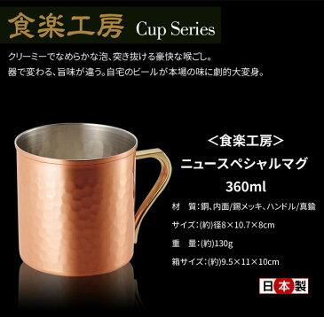 食楽工房 ニュースペシャルマグ 360ml 日本製 CNE906 【ラッキーシール対応】