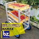 ハラックス|HARAX 運搬車 愛菜号 いちご収穫用ワゴン SW-514 5段タイプ ノーパンクタイヤ(14N)|法人限定
