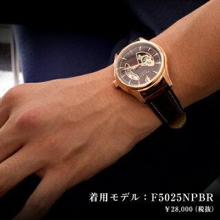 フルボデザイン腕時計FurbodesignF5025NPBRブラウン/ブラウンメンズ【送料無料※沖縄・離島を除く】父の日