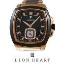 【20%OFF】 LIONHEART ライオンハート WATCH 腕時計 メンズ LHW102PBK クリスマス Xmas プレゼント ギフト