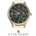 【20%OFF】 LIONHEART ライオンハート WATCH 腕時計 メンズ LHW105BKIV クリスマス Xmas プレゼント ギフト