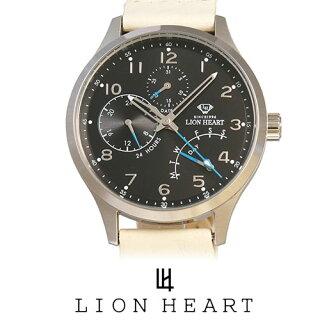 【20%OFF】LIONHEARTライオンハートWATCH腕時計メンズLHW105BKIV