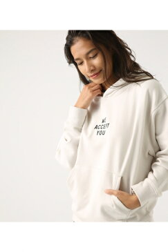 【AZUL BY MOUSSY】WE ACCEPT フーディー AZUL BY MOUSSY/アズール バイ マウジー/レディース/トップス パーカー【MARKDOWN】