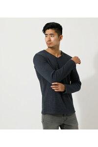 HEAVY WAFFLE LONG TEE/ヘビーワッフルロングTシャツ / AZUL BY MOUSSY/アズール バイ マウジー/メンズ/トップス カットソー【MARKDOWN】