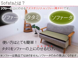 ★送料無料★腰痛用★「ソファー用畳」(1人掛け用・幅40〜45cm長さ40〜45cm)