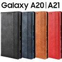 Galaxy A20 ケース 手帳 ケース SC-02M SCV46 おしゃれ アンティーク オシャレ レザー 手帳型 ……