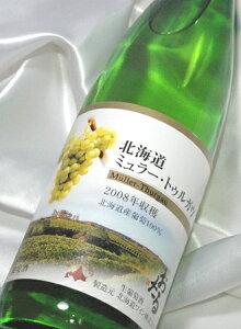 北海道ワイン北海道ミュラー・トゥルガウ 720ml