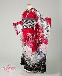 AZ-890【赤】イージーオーダーレンタル振袖レンタル着物レンタル振袖フルセット【正絹100%成人式結婚式結納ふりそでフリソデセット着物】往復送料無料♪