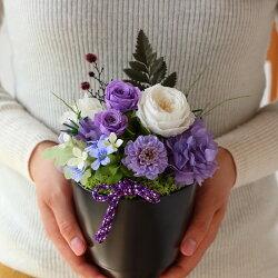 プリザーブドフラワーギフト母の日和風プリザーブドフラワー和ism瑠璃アレンジ古希祝い花プレゼントプリザーブドフラワー送料無料花誕生日ギフト女性還暦祝い母ブリザードフラワーケース入り