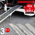 アルミラダーレール スタンド付き Aタイプ/Bタイプ/Cタイプ 選択制 折りたたみ 6061-T6【送料無料】