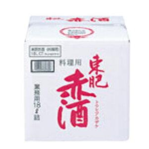 東肥 赤酒 料理用 18L入 バッグインボックス<発送までに10日ほどかかります>