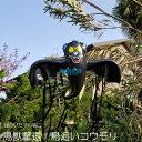 龍宝丸 鳥追いコウモリくん K-003(ベランダ 鳥よけグッ