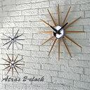 【送料無料】アートワークスタジオ アトラス2クロック Atras 2-clock TK-2074 ホワイト ナチュラル ブラウン 壁掛け 大きい ミッドセンチュリー 無垢材 一人暮らし カフェ風 西海岸 楽天 人気 ギフトの写真