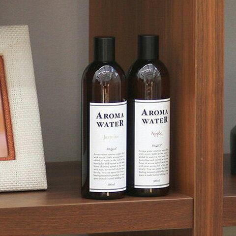 加湿器のアロマパッドに入れて香りを愉しむ♪ mercyu(メルシーユー) アロマウォーター 380ml MRU-153 全7種(アップル、ジャスミン、カモミール、ローズマリー、金木犀、桜、蓮)