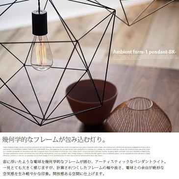 アートワークスタジオ ARTWORKSTUDIO ペンダントライト アンビエントフォーム1ペンダント(Ambient form1-pendant) AW-0470Z・AW-0470V 全2色(BK・WH)全2種(電球無・白熱球) 送料無料