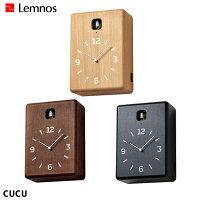 レムノス Lemnos クク CUCU LC10-16 掛け置き時計 幅182mm ハト時計 タモ 音量2段階調整 ライトセンサー付き ナチュラル 北欧 おしゃれ ハト時計 シンプル 日本製