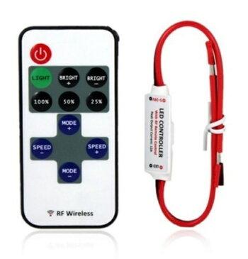 LED用ランプDC5-24V RFワイヤレスリモートスイッチコントローラ!