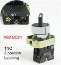 セレクタ?スイッチXB2-BD21ラッチング(保持タイプ)1接点NO...