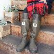 日本野鳥の会 バードウォッチング 長靴 (ブラウン) レインブーツ【折りたたみ】【パッカブル】|雨靴|長靴|雪|野外ライブ|野外フェス|アウトドア|キャンプ|農作業|田んぼ|釣り|ブーツ|【送料無料】【レインブーツ】【レディース】【メンズ】