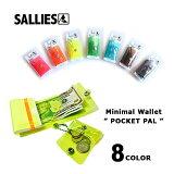 【ネコポス対応】財布/ウォレット/サイフ/PVCSALLIES【サリーズ】minimal wallet pocketpal (clear)