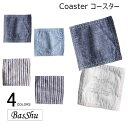 コースター 日本製【ネコポス対応】Basshu【バッシュ】Coaster コースター