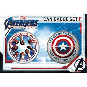 Marvel(マーベル) Avengers: Endgame(アベンジャーズ/エンドゲーム) 缶バッジセット F [インロック]