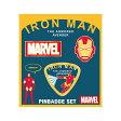 Marvel(マーベル) POP ICON Iron Man (アイアンマン) ピンバッジセット [インロック]